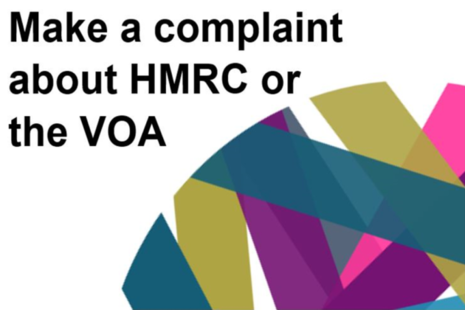 Make a complaint about HMRC or the VOA