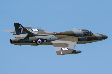 Hawker Hunter T7 G-BXFI