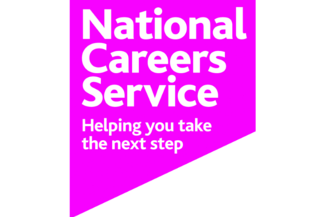 Image of the National Careers Service logo.
