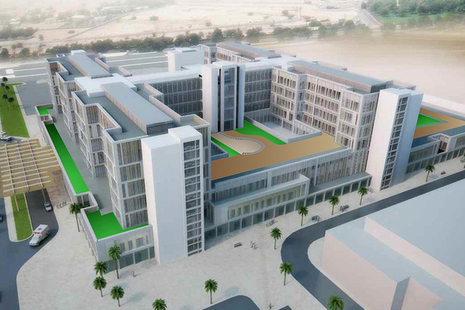 Government backs UK firm to build three hospitals in Oman' within 'UK Export Finance
