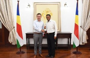 High Commissioner to Seychelles presents credentials