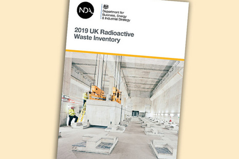 2019 Inventory of UK Radioactive Waste published