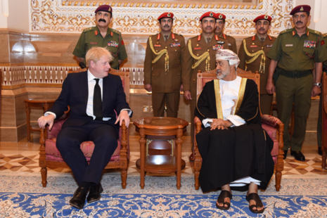 The Prime Minister met the new Sultan - HM Sultan Haitham bin Tariq Al Said - and other senior members of the Government of Oman.