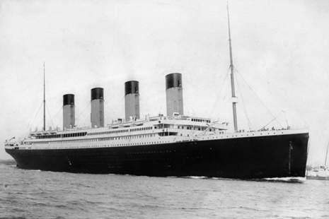 Image of the Titanic.