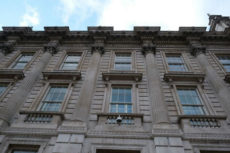 Cabinet office facade