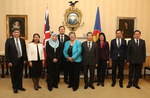 Minister Heather Wheeler held meeting with ASEAN senior diplomats in the UK