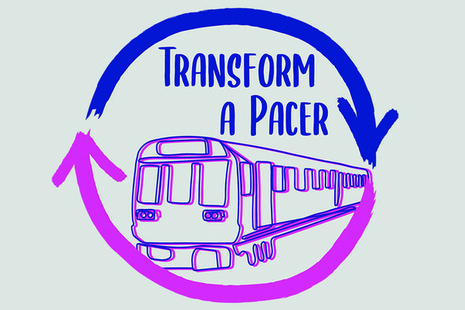 Logo of the Transform a Pacer competition