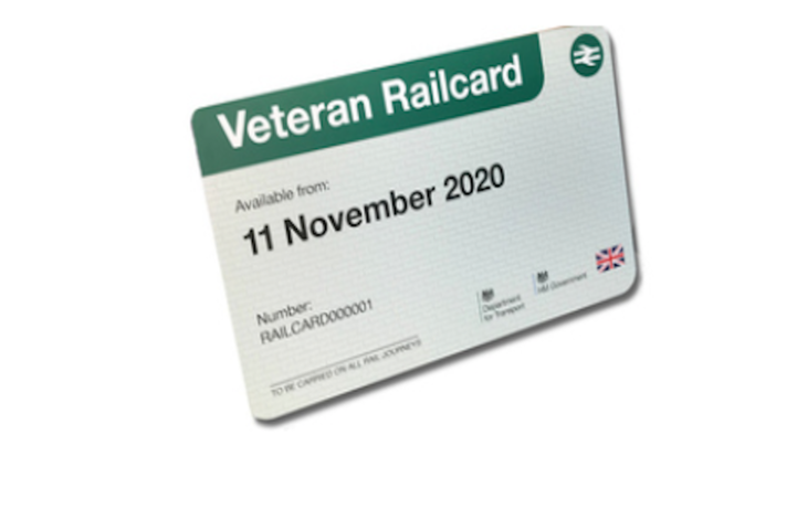 Veteran Railcard Example