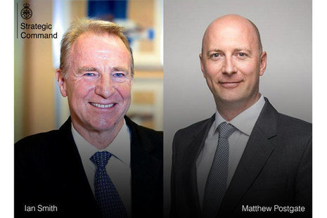 Image of Ian Smith and Matthew Postgate side by side, as the new appointed Non-Executive Directors.