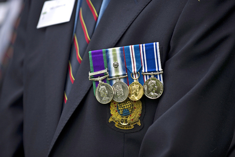 Medals, Crown Copyright, All rights reserved