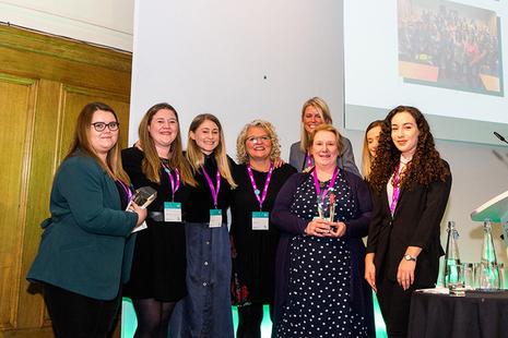 Dounrey Women's Network and Women In Nuclear Highland Regional Brance win award
