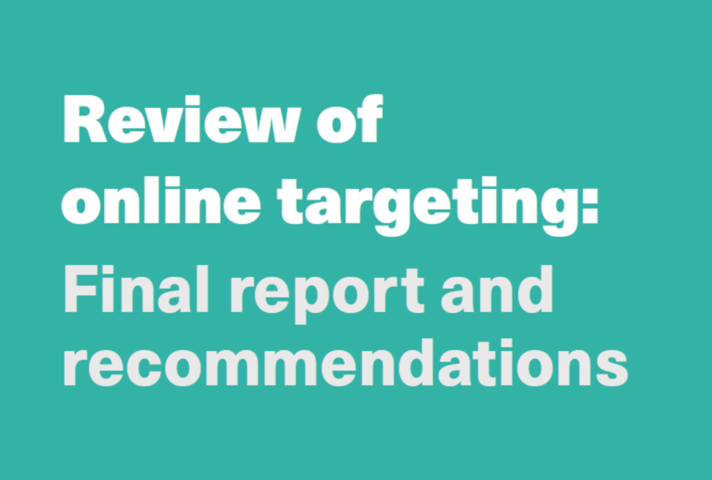 CDEI Online Targeting Review