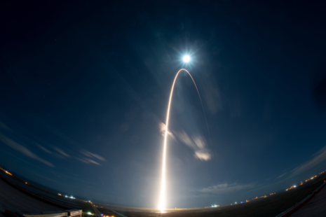 Photo of Solar Orbiter launch