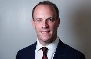 Profile picture of UK Foreign Secretary Dominic Raab