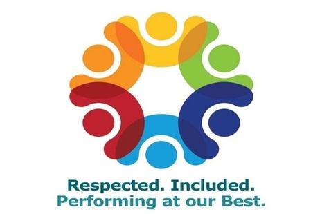 A multi coloured EDI logo that Sellafield Ltd use in their EDI programme