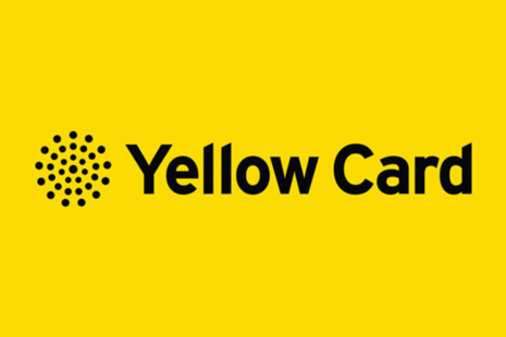 Yellow Card logo