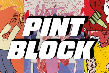 Pint Block.