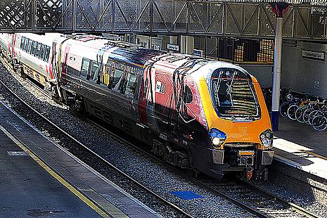 CrossCountry train.