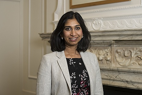 Attorney General, the Rt Hon Suella Braverman QC MP