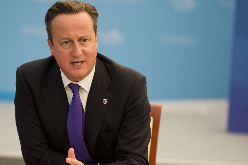 The PM speaks at a meeting of donor countries about Syria
