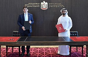 UK and UAE sign MoU