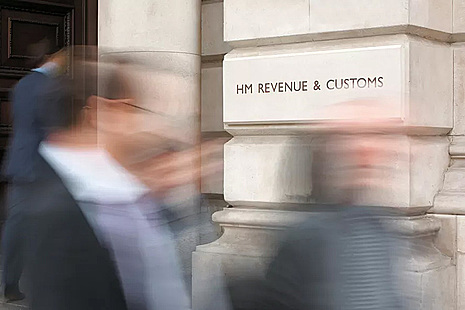 Photograph of the outside of HMRC's main office