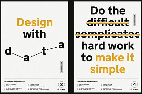 Design with data principle poster