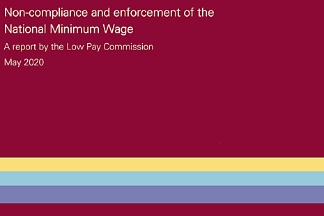 Image of the cover of the 2020 non-compliance and enforcement report.