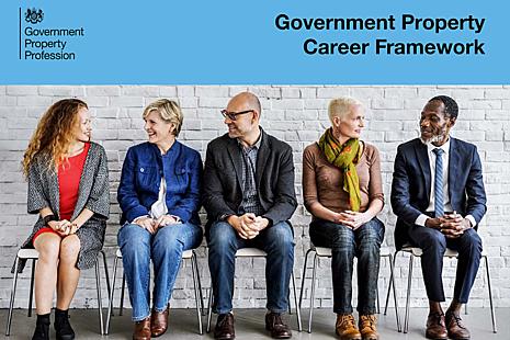 The Government Property Profession career framework logo