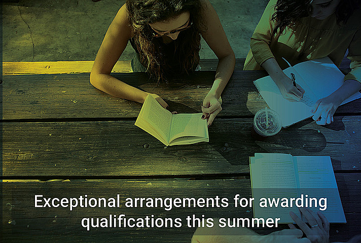 Exceptional arrangements for awarding qualifications this summer