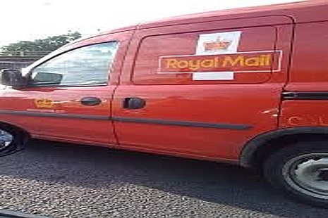 Photo of Royal Mail van