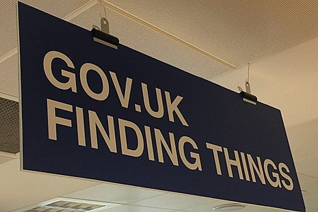 GOV.UK finding things team sign