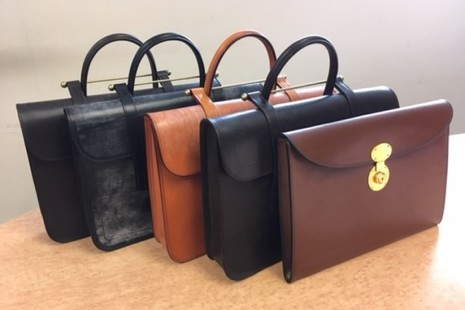 Rutherfords of England - Selection of leather music cases