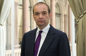 Africa Minister James Duddridge