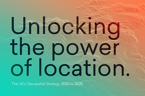 Front cover of strategy - text reads unlocking the power of location