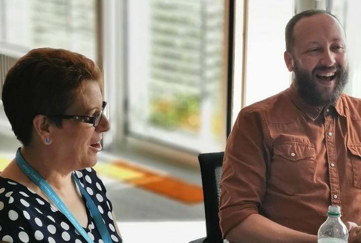 Debra Soper and Jack Richardson
