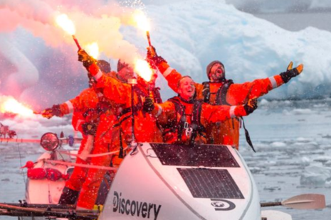 ACTIPH founder and crew: ending flares - Drake Passage