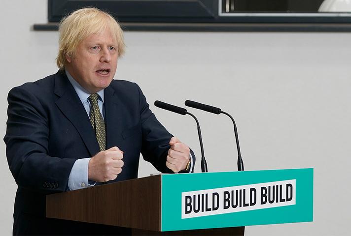 PM giving Build Build Build speech