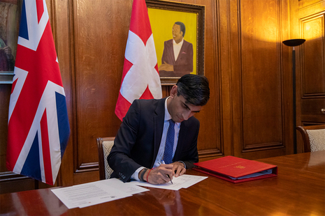 Mutual recognition agreement on financial services between the UK and Switzerland