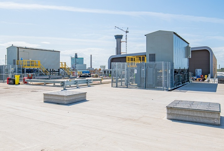 Image of MSCF on the Sellafield site