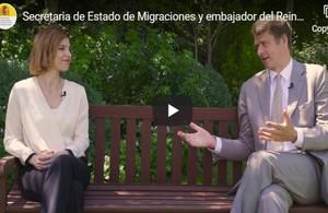 British Ambassador and Secretaria de Estado de Migraciones send a joint message to UK nationals in Spain