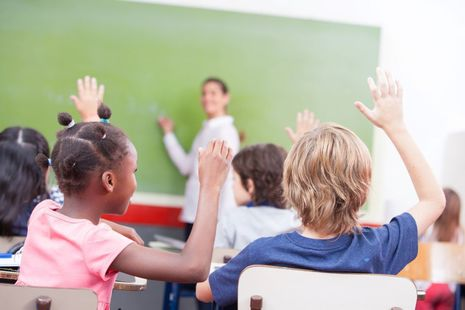 Teacher in the classroom - STRB 2020 report