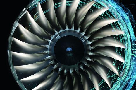 Jet turbine.