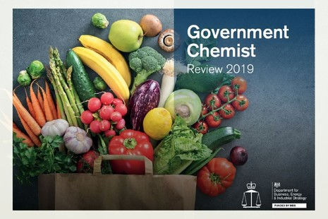 Cover of Government Chemist Review 2019