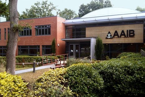 Photo of the AAIB Office