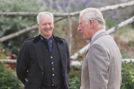 Prince Charles meets DSRL Operations Director Mick Moore