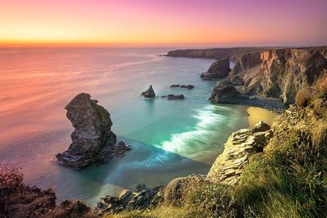 Englisg coast, Cornwall