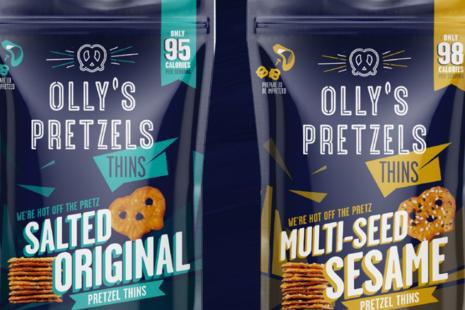 OLLY'S new range of pretzels