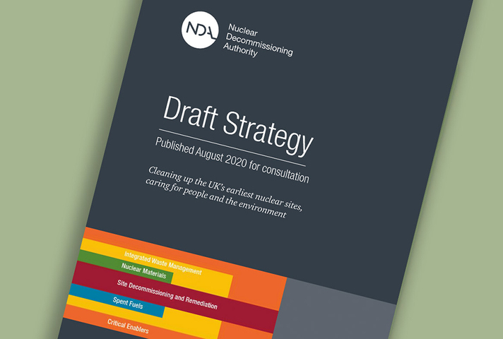 Front cover of NDA Draft Strategy 4 for consultation