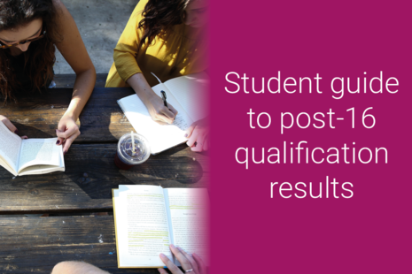 Student guide to post-16 qualification results